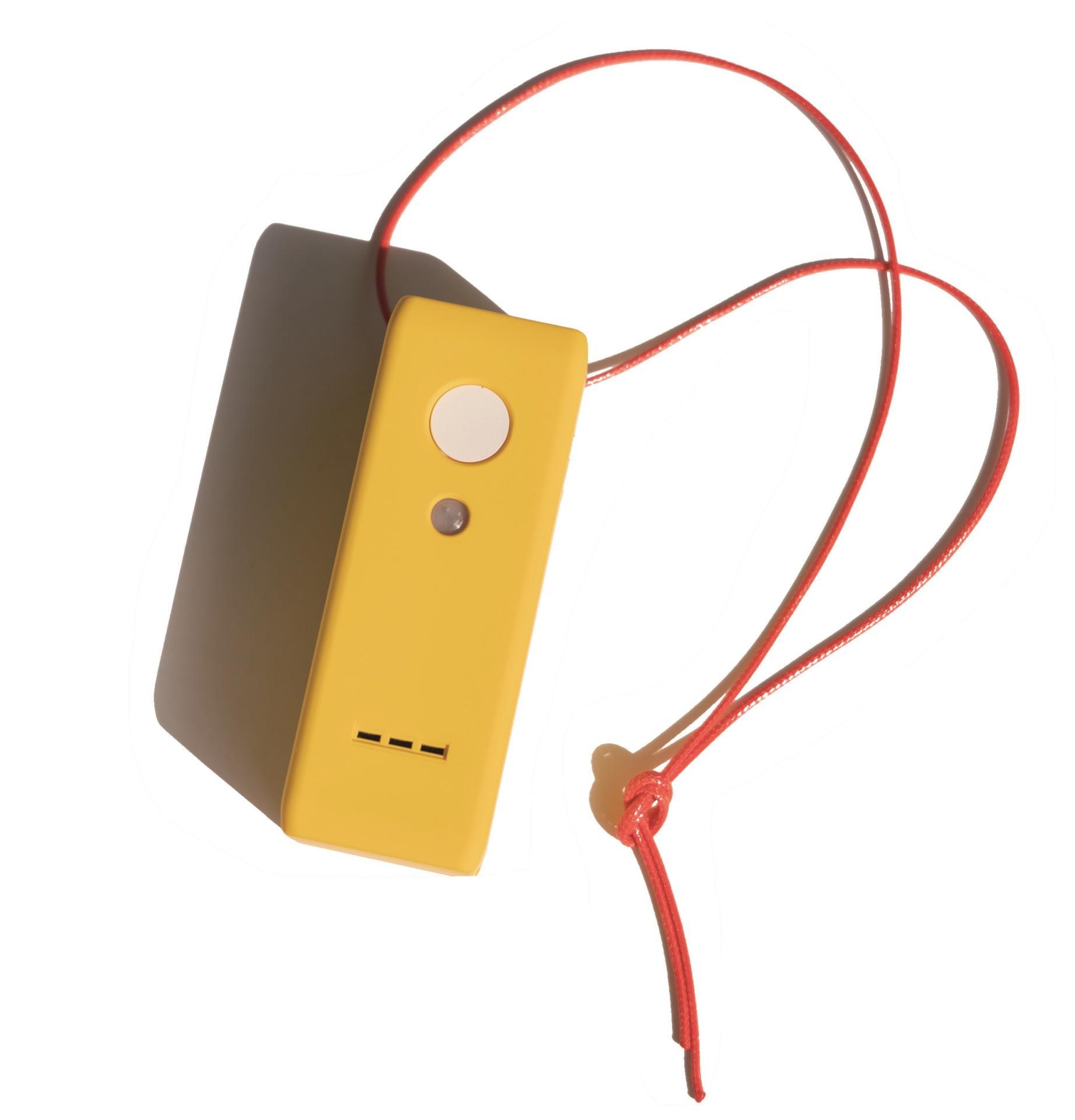 보이스잇voice it 음성메모 말하는 포스트잇 언택트 비대면 레트로갬성 아날로그 노란색